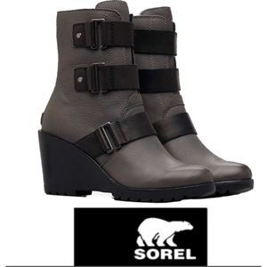 Sorel After Hours Grey Booties/Boot NEW Size7